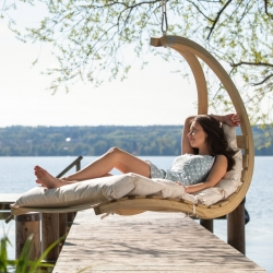 SWING LOUNGER, Creme